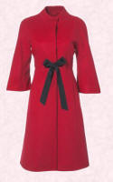 Wallis red coat autumn winter 2006/7